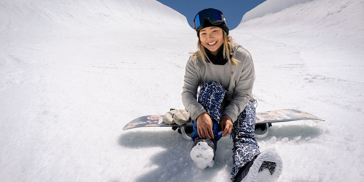 Chloe Kim Makes a Successful Debut