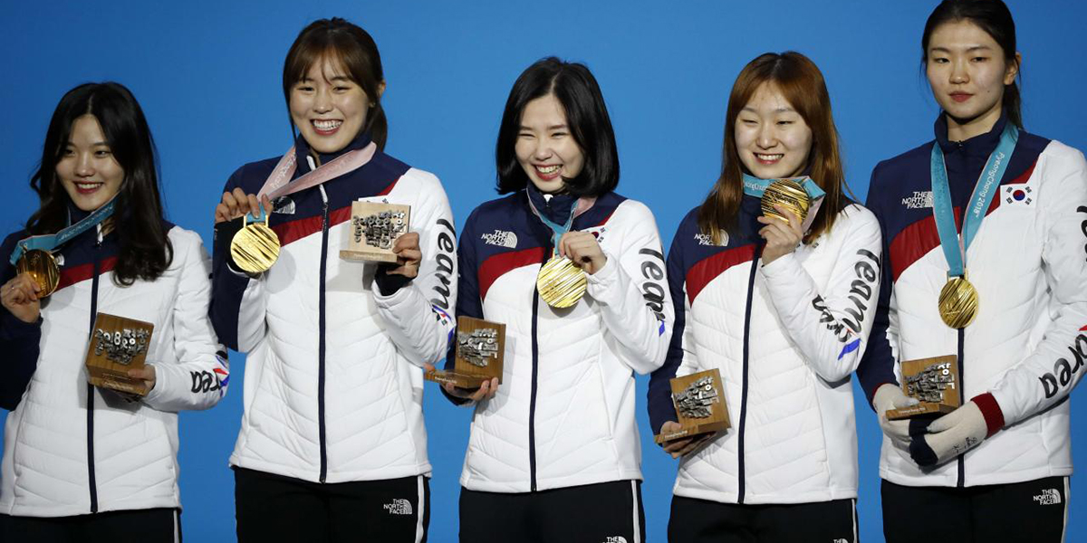 Women's Short Track Team Now World Champs