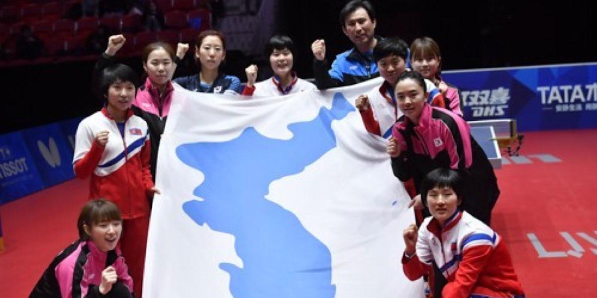 북한 선수, 한국의  탁구 투어 참가 국제