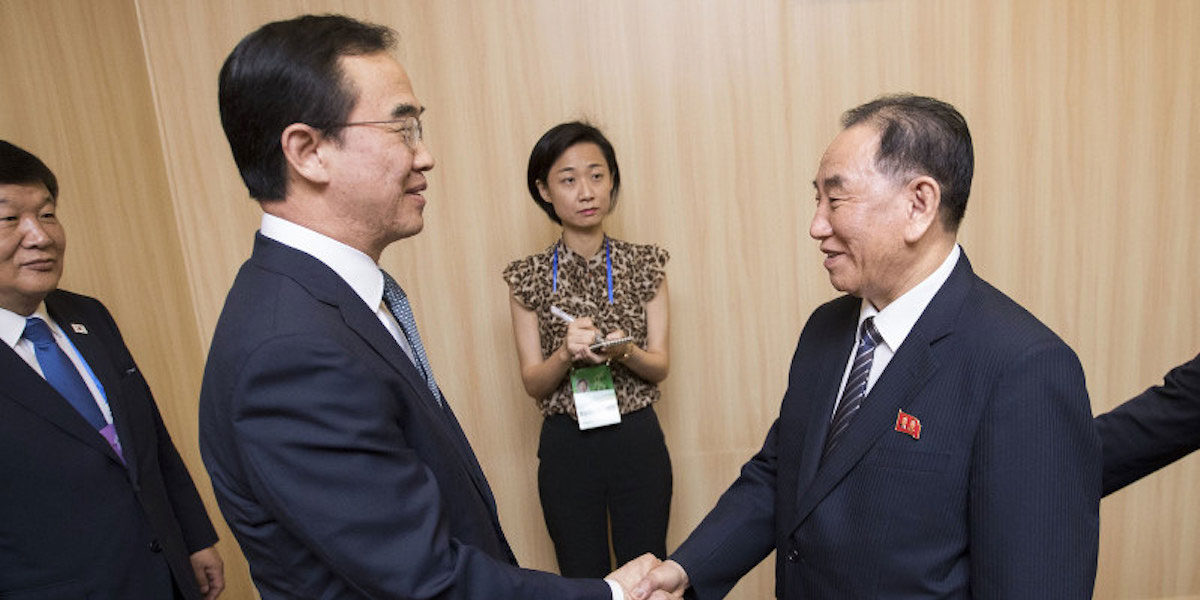 North and South in Basketball Diplomacy to Unite in Pyongyang