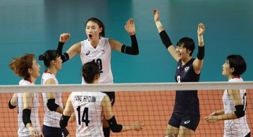 Korean Women's Volleyball Update – Korea against Indonesia