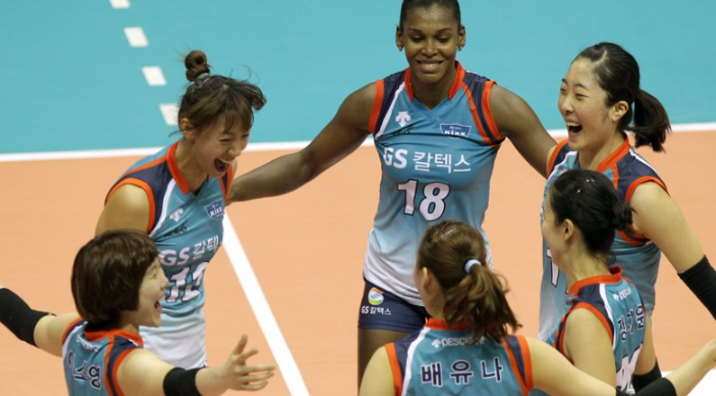 GS Caltex Wins over Pink Spiders in Easy Victory