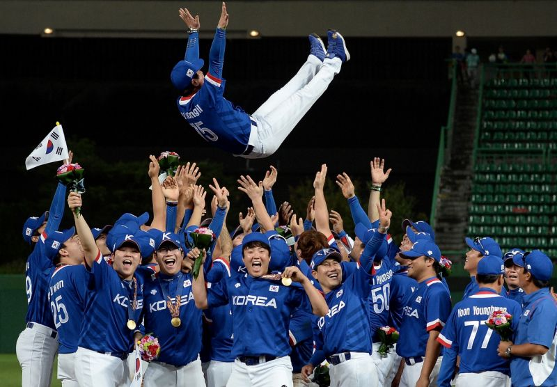Sports betting enthusiasts favor Korean baseball team for Asian Games