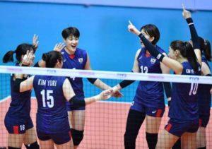 한국 여자 배구 업데이트 - 한국과 인도네시아