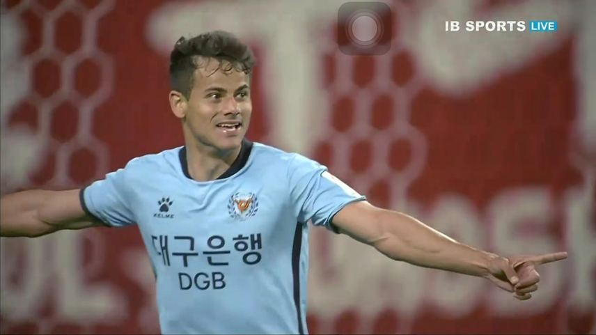 Daegu FC Wins Against Suwon Samsung Bluewings