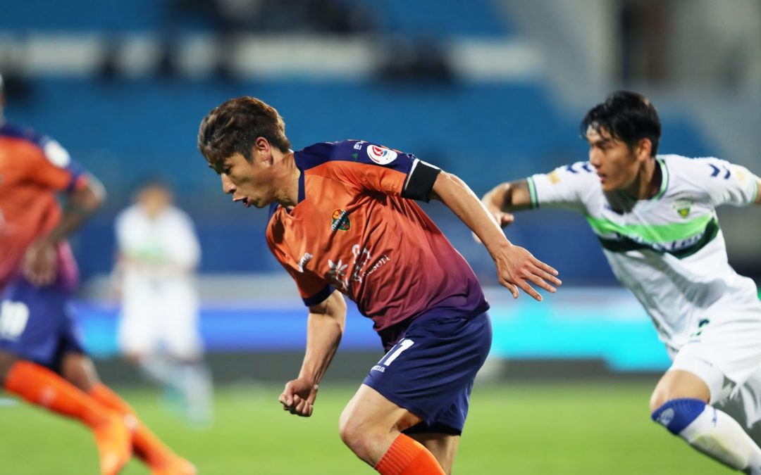 It's a draw for Gangwon FC  and Pohang Steelers match