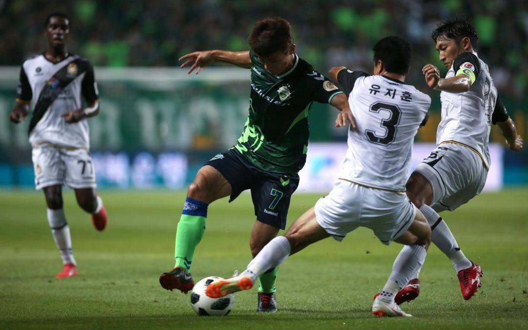 Gyeongnam FC and Jeonbuk Hyundai will go toe to toe again