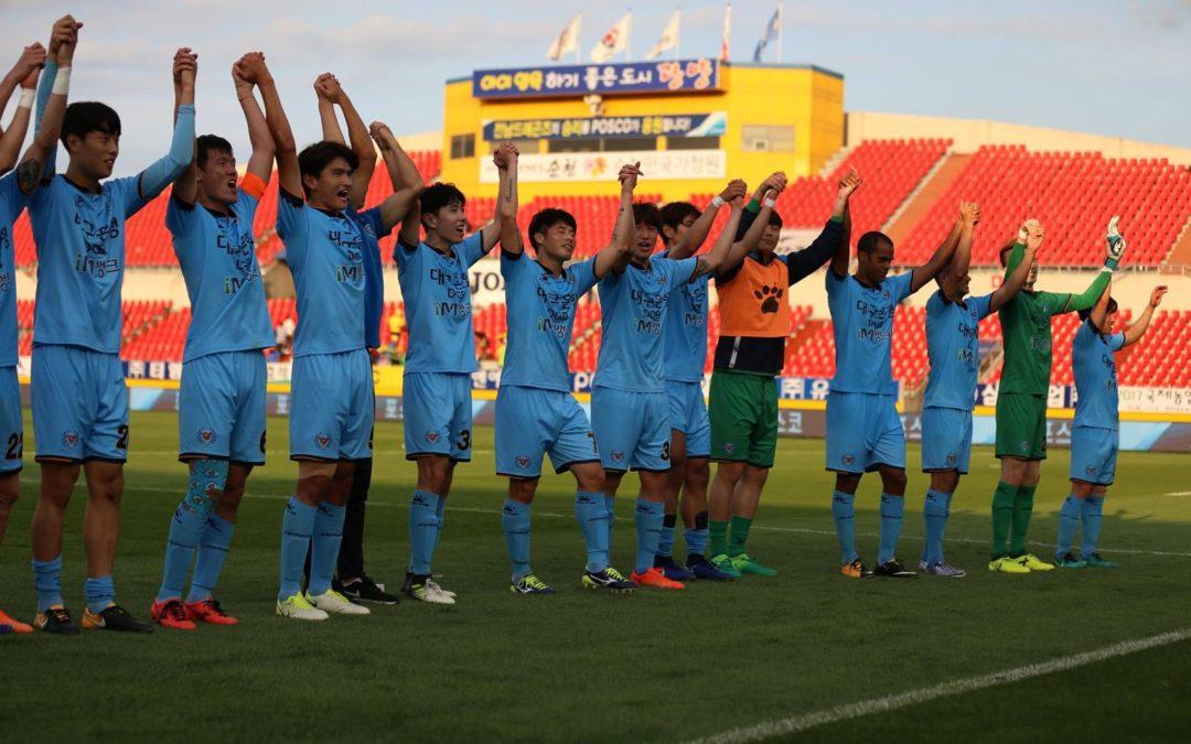 Daegu FC aiming for 5th win in ongoing winning streak