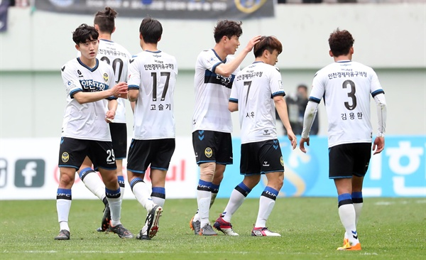 Incheon VS Jeonnam ends with a draw