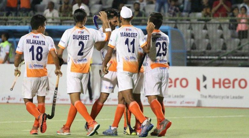 India Defeats South Korea in 2018 Asian Championship Muscat