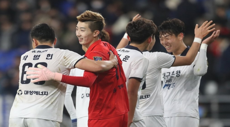 Daegu Beats Ulsan in FA Cup Final Opener