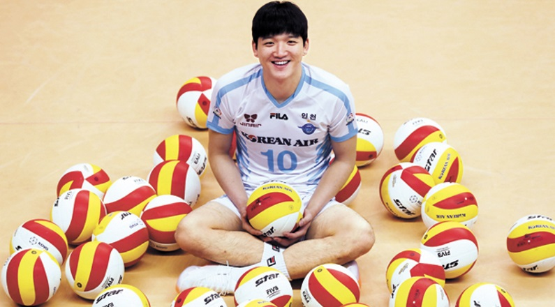 Jung Ji-seok of the Incheon Korean Air Jumbos is having a Great Year