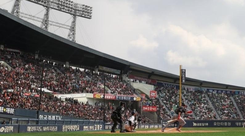 2019 년 한국 야구 시즌 개막 주말 기록 출석