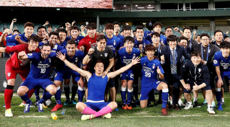 Suwon Samsung Bluewings Aim for Top Post