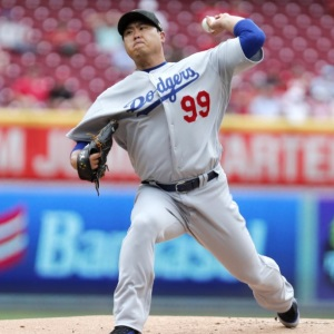 Ryu Hyun-jin is a contender for the MLB Monthly Pitching Award