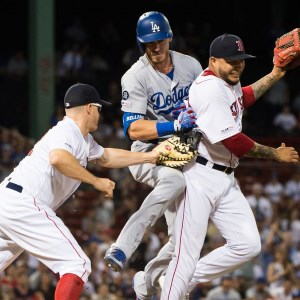 Dodgers Defeat the Red Sox in 12 Innings