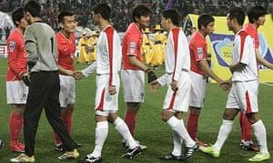 한국, 월드컵 예선에서 북한과 대면