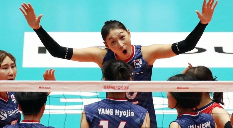 한국 여자 배구 올림픽 예선 토너먼트