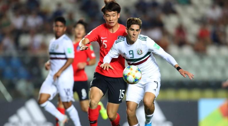 한국, FIFA U17 준준결승 월드컵에서 멕시코를 잃다