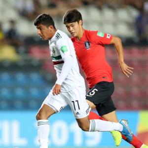 한국, FIFA U17 준준결승에서 멕시코를 잃다