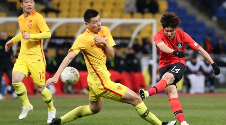 South Korea Defeats China at the East Asian Football Tournament