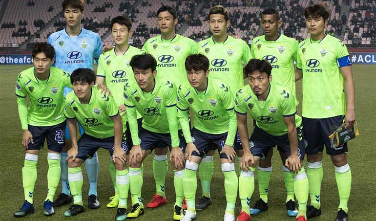 Jeonbuk Hyundai Motors to Represent South Korea in AFC Champions League