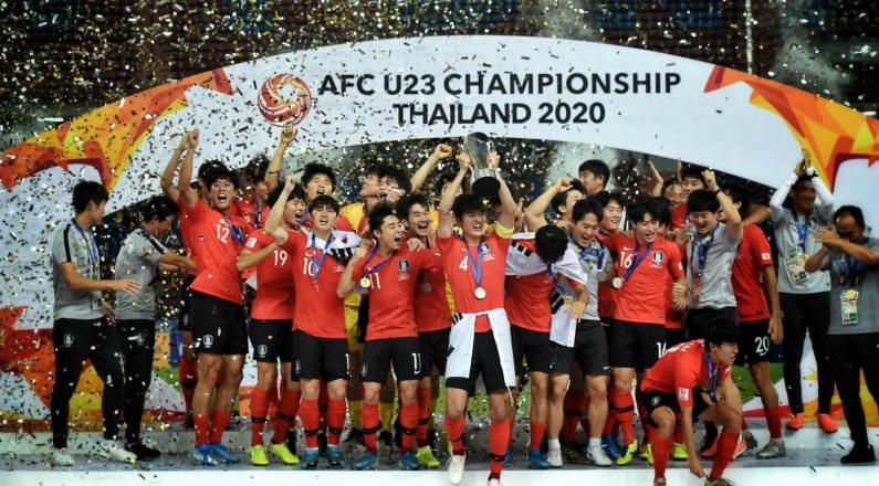한국, 2020 년 AFC U23 챔피언십 우승