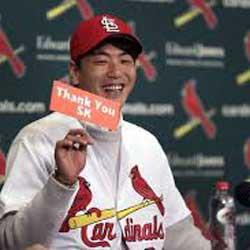 Kim Kwang-hyun Joins SK Wyverns Training Camp Before Reporting to Cardinals Camp