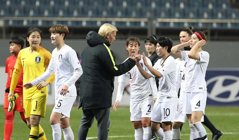 South Korea Beats Myanmar in First Game of Olympic Women's Football Qualifiers
