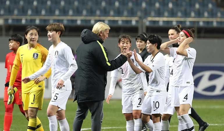 대한민국, 올림픽 여자 축구 예선 첫 경기에서 미얀마를 이기다