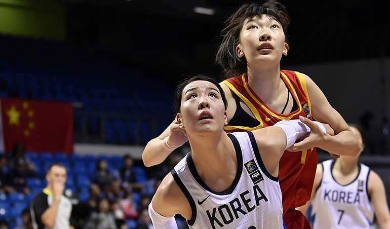 South Korea Women's Basketball Team Qualifies for the Tokyo Olympics