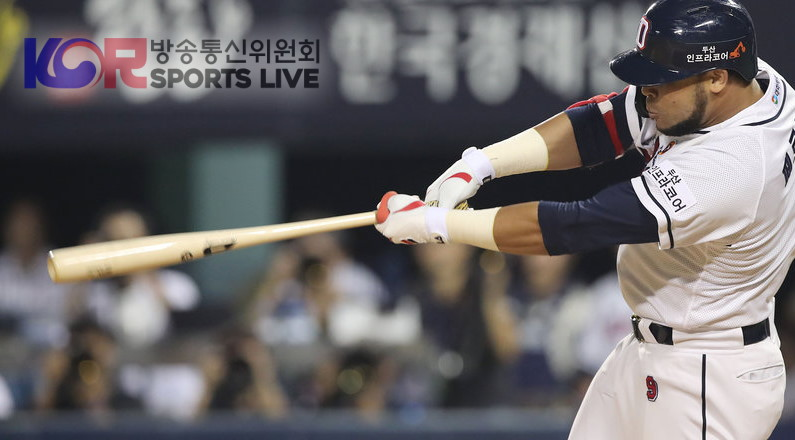 Fernandez is Hitting Consistently for the Doosan Bears