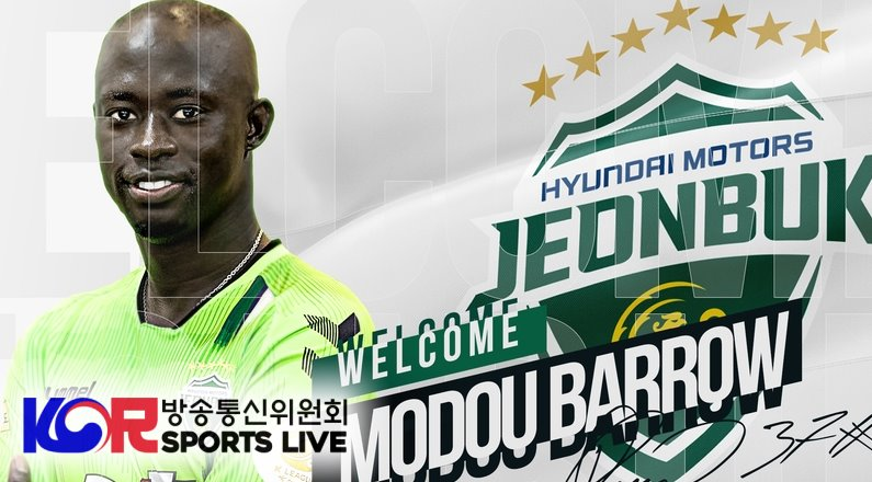 Mo Barrow Joining the Jeonbuk Hyundai Motors