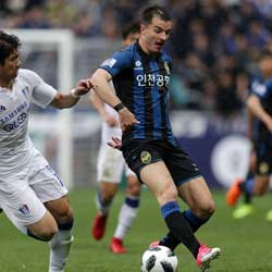 Incheon United Asks Montenegro Not to Call Up Striker