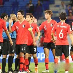 10 월에 예정된 전국 축구 대표팀 전시 경기