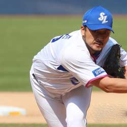 Veteran Daegu Samsung Lions Pitcher Retires at 40