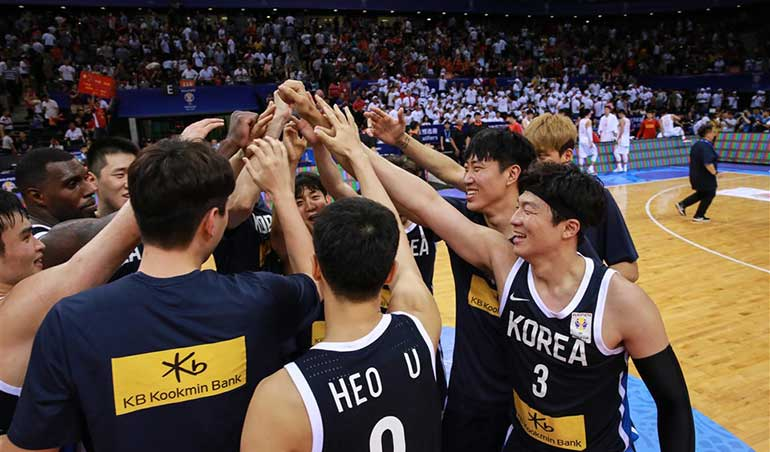 South Korea Withdrew from FIBA Asia Cup Qualifier Window