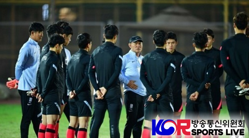 Korean Men Olympic Football Team is Back in Training