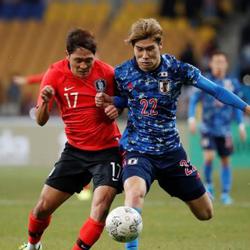 South Korea vs. Japan in Men's Football Friendly on March 25