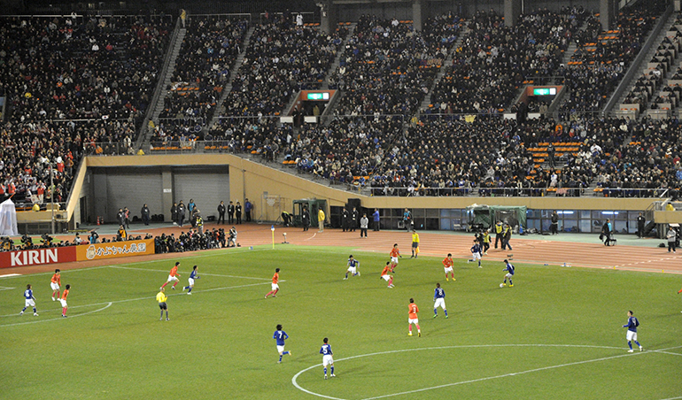 South Korea vs Japan in Men's Football Friendly on March 25