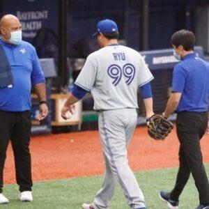 Ryu Hyun-Jin Suffers a Glute Strain Injury