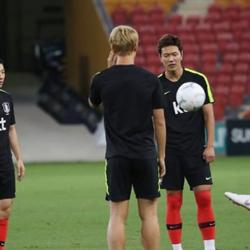 South Korea National Football Team Opens Final Training Camp Before Olympics