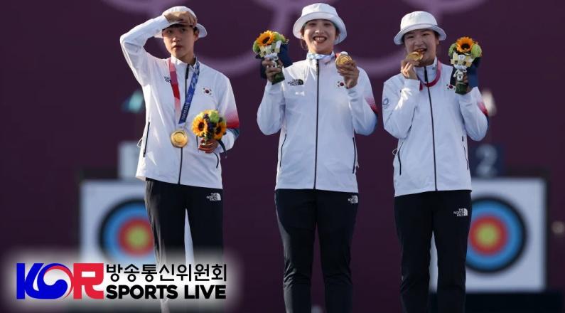한국 올림픽 양궁 종목을 지배하다