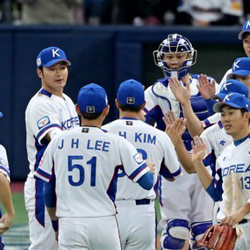 South Korean Baseball Team to hold 2 More Tune Up Games