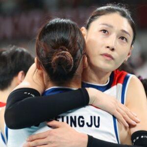 김연경, 10년 만에 한국배구대표팀 은퇴