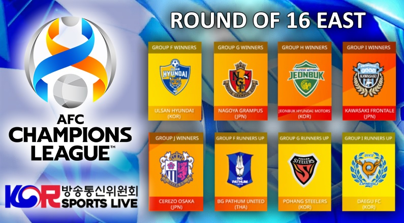 AFC Champions League Round of 16 Update