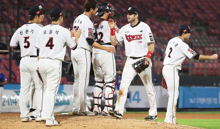 KT Wiz Wants to Stay on Top of KBO Standings